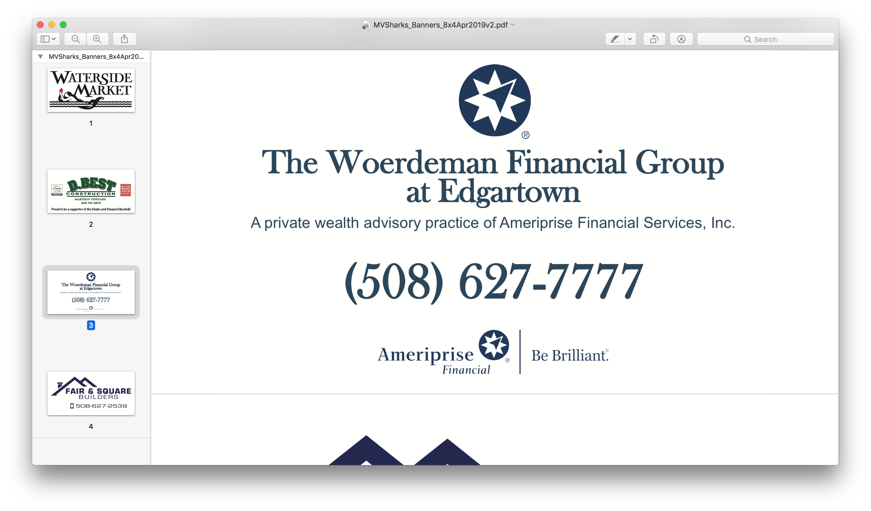 The Woerdeman Financial Group at Edgartown
